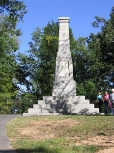 Monument at Kings Mountain