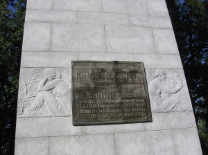 Monument King's Mountain