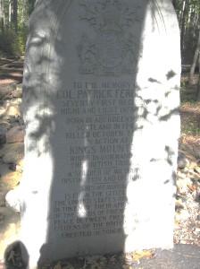 monument to Ferguson King's Mountain