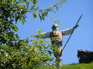 scarecrow at Hobbiton